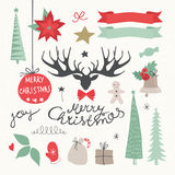 Christmas Elements and Symbols. Stock Images