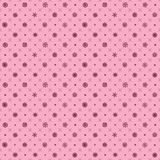Christmas elements. Vector pink Seamless pattern. Seamless pattern with christmas elements. Vector pink Seamless pattern with snowflakes Stock Photography