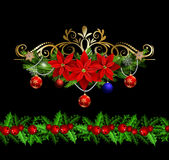 Christmas elements for your designs Royalty Free Stock Image