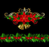 Christmas elements for your designs Stock Photo