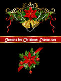 Christmas elements for your designs Royalty Free Stock Photo