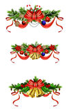Christmas elements for your designs Stock Photography