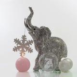 Christmas elephant Royalty Free Stock Image