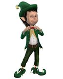 Christmas elf 1 Royalty Free Stock Image