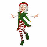 Christmas Elf Royalty Free Stock Image