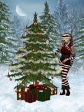 Christmas Elf. 3d render of Christmas Elf Royalty Free Stock Image