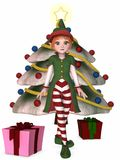 Christmas Elf Stock Image
