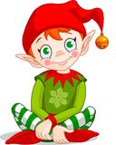 Christmas_elf vector illustration