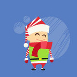 Christmas Elf Cartoon Character Santa Helper Royalty Free Stock Photo