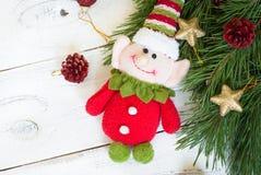 Christmas elf Stock Photo