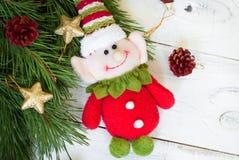 Christmas elf Royalty Free Stock Image