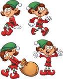 Christmas elf Stock Photos