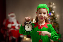 Christmas elf Stock Photos