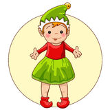 Christmas Elf Stock Images