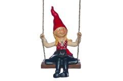 Christmas elf isolated Stock Photos