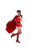 Christmas Elf Pinup Stock Photography