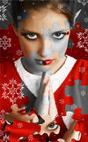 Christmas Elf Puzzle royalty free stock photos