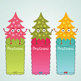 Christmas elf with sale label Stock Images