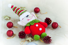 Christmas elf toy Stock Images