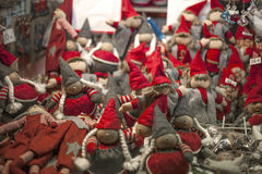 Christmas elfs Stock Photos