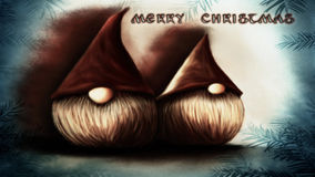 christmas elfs Stock Photo