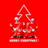 Christmas elfs Royalty Free Stock Photos