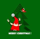 Christmas elfs Stock Photos