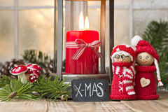 Christmas elfs Royalty Free Stock Images
