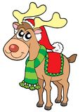 Christmas elk Royalty Free Stock Images