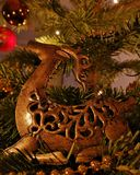 Christmas elk stock images