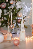 Christmas Elv decorations. Royalty Free Stock Photo
