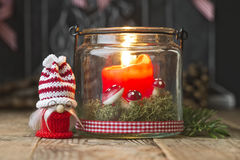 Christmas elve Stock Photography