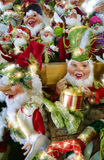 Christmas Elves. Assortment of cute Christmas elves Royalty Free Stock Photo