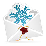 Christmas Email Royalty Free Stock Photos