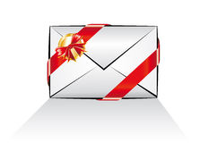 Christmas Email Message Icon Stock Photography