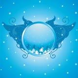 Christmas emblem Royalty Free Stock Photos