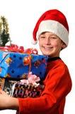 Christmas emotions Stock Image