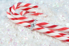 Christmas engagement Royalty Free Stock Images
