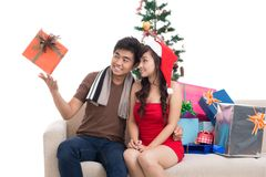 Christmas entertainment Royalty Free Stock Photos