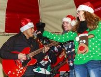 Christmas entertainment Stock Image
