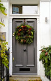 Christmas entrance Royalty Free Stock Photography
