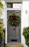 Christmas entrance royalty free stock photography