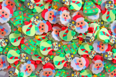 Christmas erasers royalty free stock photos