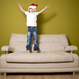 Christmas euphoria Royalty Free Stock Image