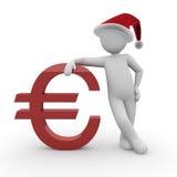 Christmas euro 2 Royalty Free Stock Image
