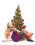 Christmas eve Royalty Free Stock Photography
