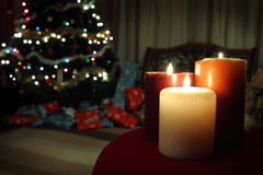 Christmas Eve Background Royalty Free Stock Photos