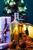 Christmas eve cheers Stock Photography