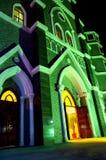 Christmas Eve church Royalty Free Stock Photo