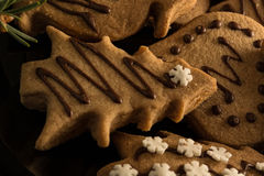 Christmas eve with cookies Stock Photo